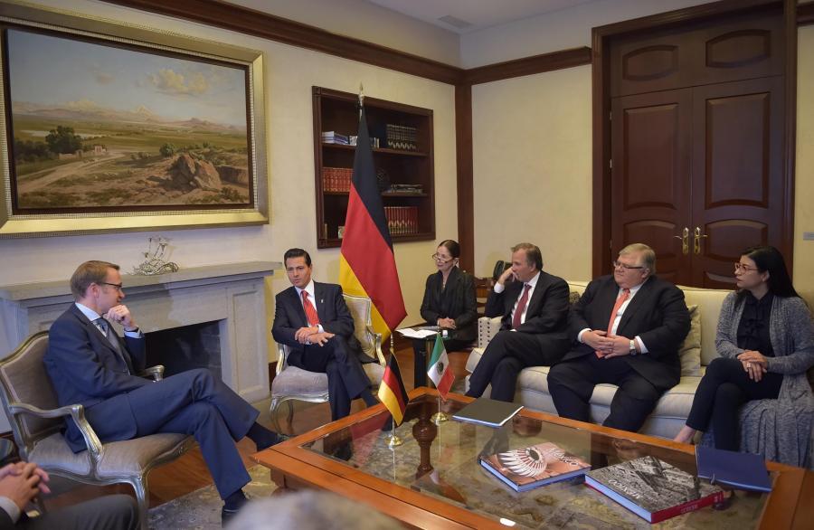 Reunión con el Presidente del Banco Central de Alemania