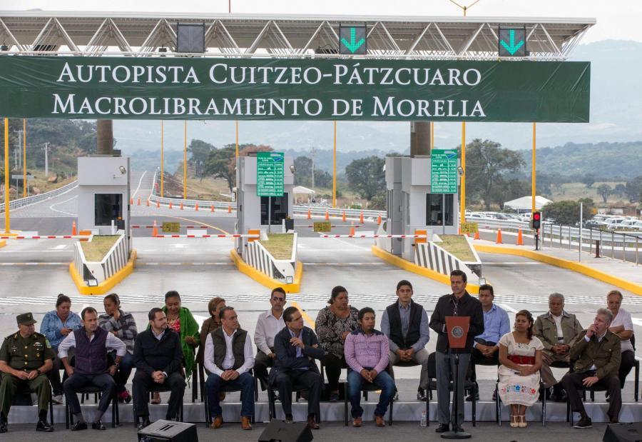 Autopista Cuitzeo-Pátzcuaro Macrolibramiento de Morelia