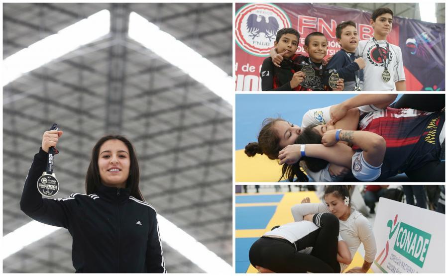 CNAR alberga Campeonato Regional Zona Centro de Jiu Jitsu Brasileño