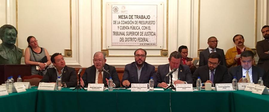 Exige Toledo al Secretario de Finanzas presupuesto justo para la CDMX