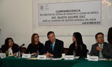 Habría severas crisis hídricas en la Ciudad de México por falta de presupuesto: Ramón Aguirre