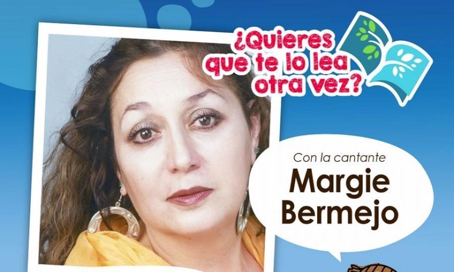 Margie Bermejo ilustrará su lectura en voz alta con canciones