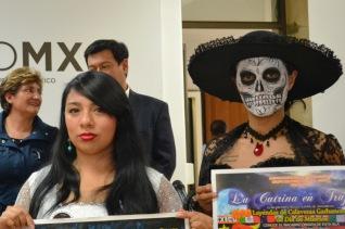 Representan leyendas de La Llorona, La Cihuacoátl, La Catrina y El Nahual, en el Islote de Xochimilco