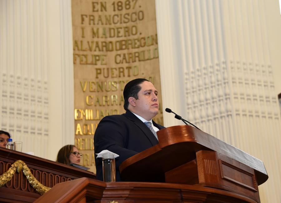 Presidirá diputado Luis Alberto Mendoza Acevedo, del PAN, Mesa Directiva en el mes de noviembre