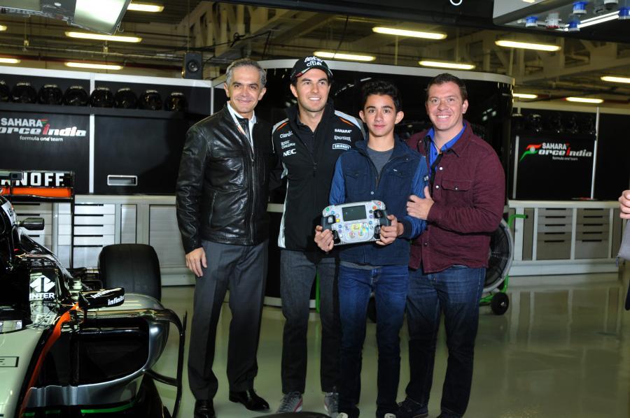 Supervisa Jefe de Gobierno últimos detalles para Fórmula 1