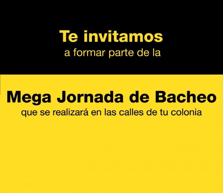 DELEGACIÓN IZTAPALAPA Y VECINOS RELIZARÁN MEGA JORNADA DE BACHEO ESTE 05 DE NOVIEMBRE