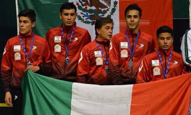 Tres platas y un bronce para México en el Mundial de Frontón Sub-22