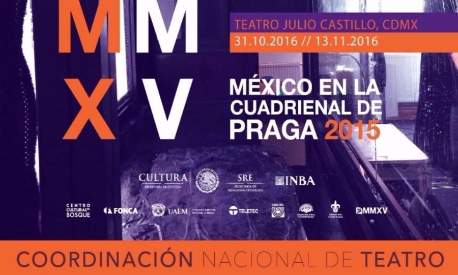 Se mostrarán en el Teatro Julio Castillo parte de los trabajos mexicanos  que participaron en la Cuadrienal de Praga 2015