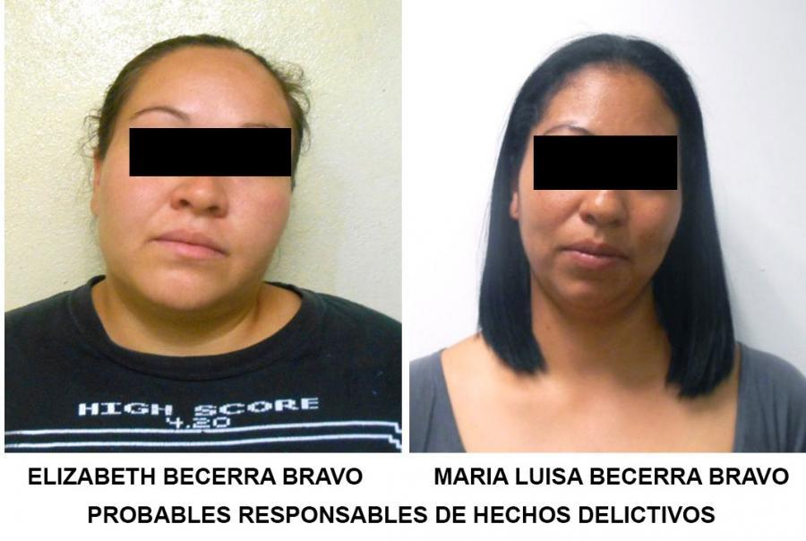 """FORMAL PRISIÃ""""N CONTRA DOS HERMANAS IMPLICADAS EN EL COBRO DE EXTORSIONES"""