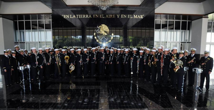 La Banda de la Secretaría de Marina festejará también al Conservatorio Nacional de Música