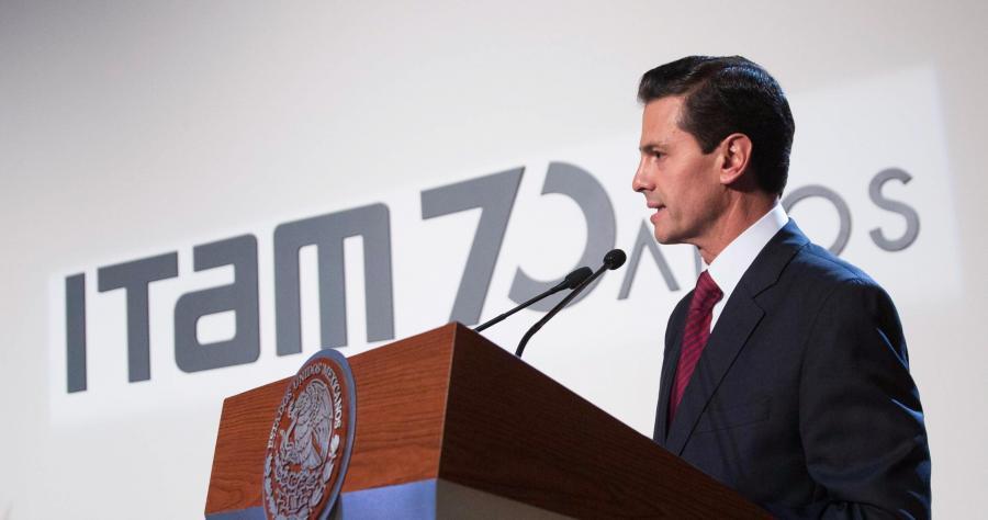 Ceremonia conmemorativa del 70º aniversario del ITAM