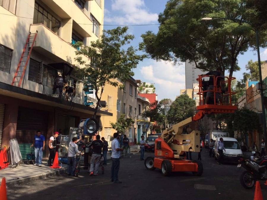 No hubo asalto al equipo de filmación en la Colonia Tabacalera