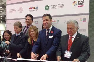 Miguel Torruco promueve la CDMX en el mercado de habla inglesa más importante de Europa