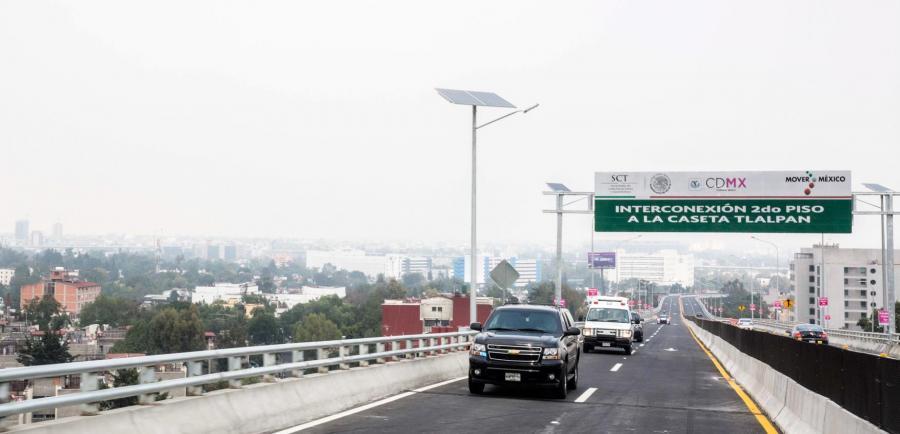 Infraestructura para solucionar el congestionamiento vial en la Ciudad de México
