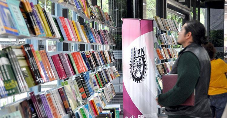 Día Nacional del Libro en Escuelas del IPN