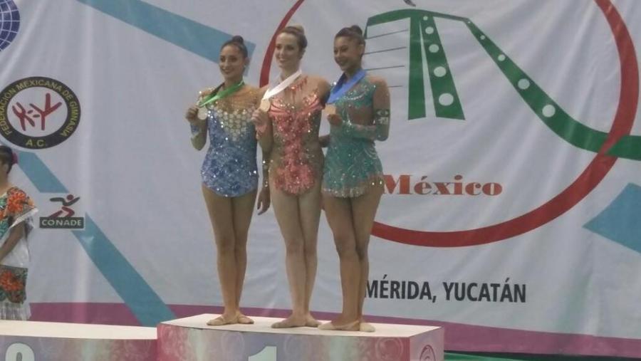 México suma siete medallas más en Panamericanos de Gimnasia Rítmica