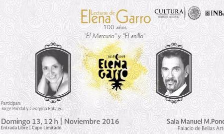 Continúa en noviembre el ciclo de lecturas dedicadas a la escritora mexicana Elena Garro