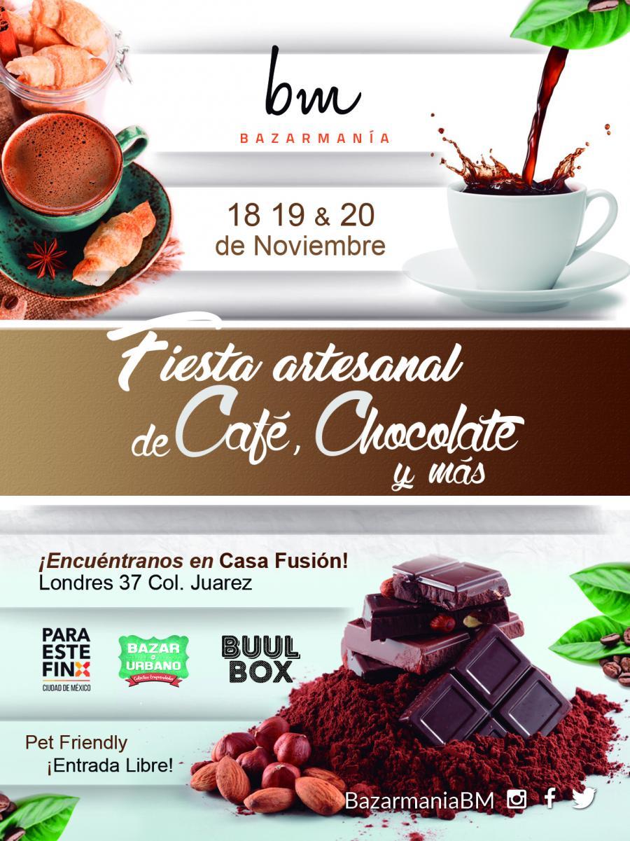 FIESTA ARTESANAL DE CAFÉ, CHOCOLATE Y MÁS...