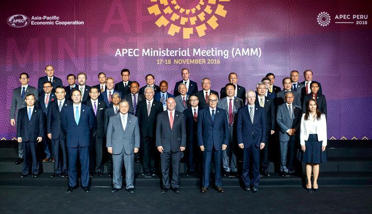 México participa en el Foro de Cooperación Económica Asia-Pacífico APEC Perú 2016