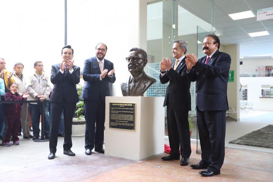 "Mancera inaugura policlínica ""Dr. Salvador Allende"" con modelo de atención integral, única en su tipo"