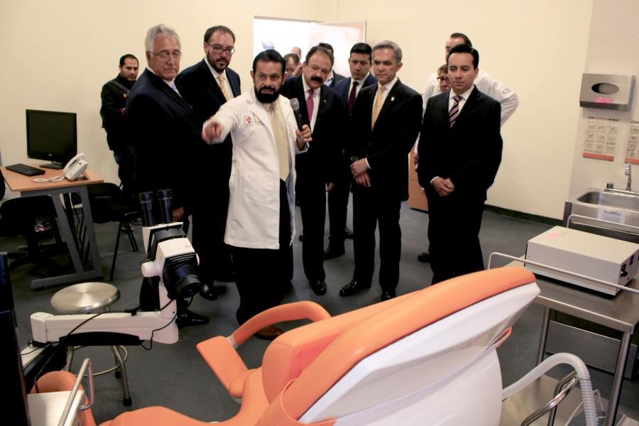 Se Inaugura Policlínica, es un modelo único en Coyoacán y la CDMX