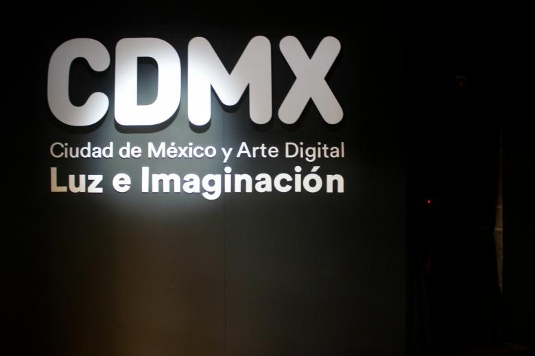 Visita la exposición: Ciudad de México y Arte Digital