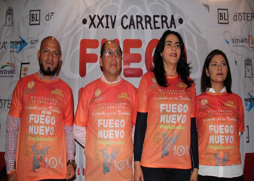 CONVOCAN A ATLETAS A SUMARSE A LA XXIV CARRERA DEL FUEGO NUEVO