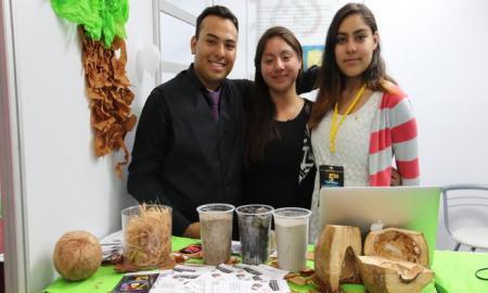 Estudiantes del IPN refuerzan concreto con fibra de coco