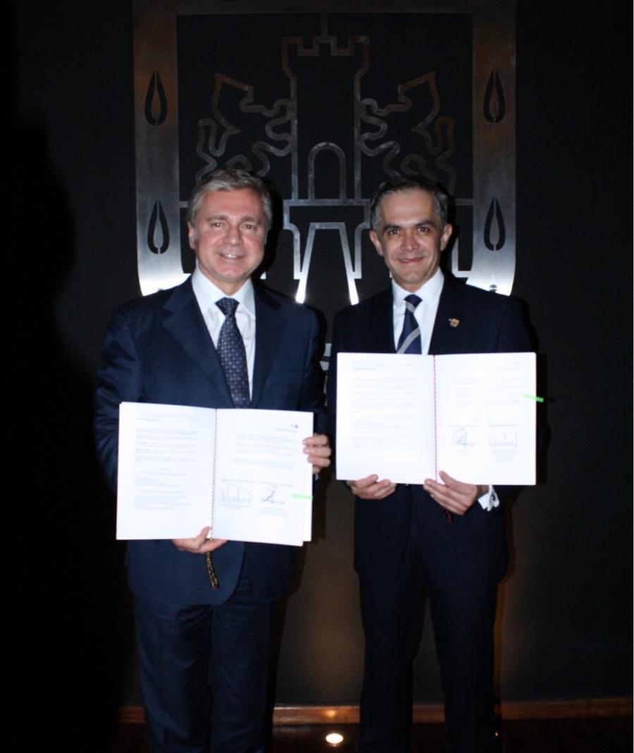 Firman convenio de colaboración la CDMX y Moscú