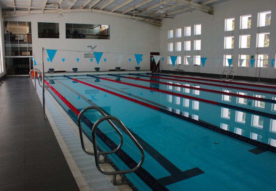 Las instalaciones de Villas Tlalpan cuenta con alberca semiolímpica para rehabilitación de los atletas