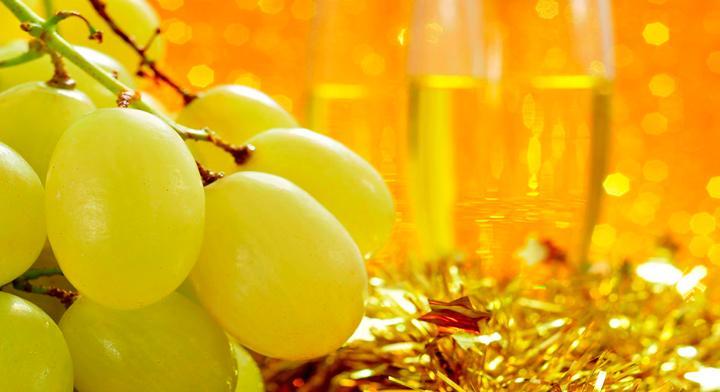 Las uvas forman parte de uno de los rituales más famosos de año nuevo