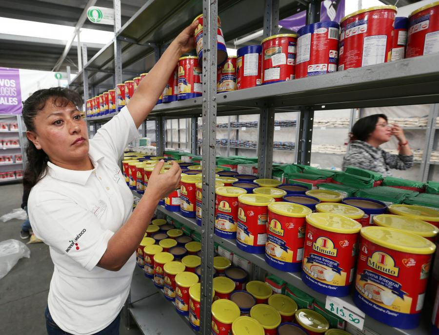 La Diconsa impulsó a más de 30 mil localidades con la canasta básica
