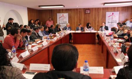 REALIZAN SESIONES DEL GABINETE DE GOBIERNO, SEGURIDAD PÚBLICA Y PROCURACIÓN DE JUSTICIA