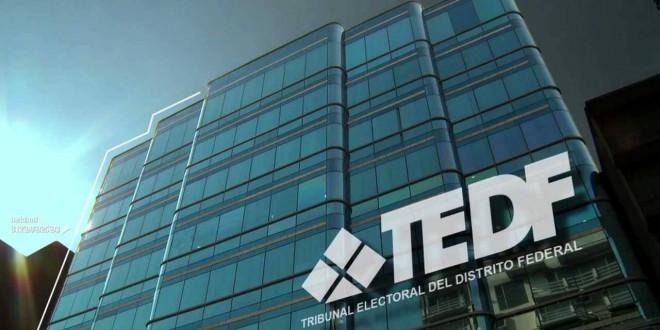 INTENSA ACTIVIDAD DEL TEDF EN PROCESOS DEMOCRÁTICOS PARA EL 2017