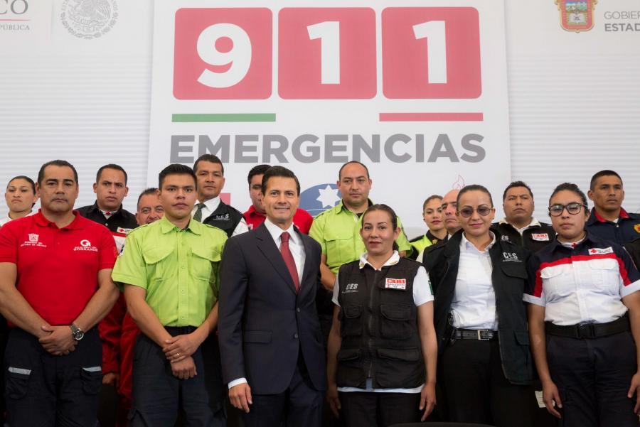 911, número único de atención de llamadas de emergencias