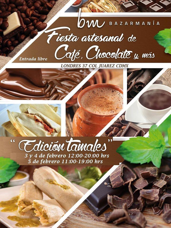Fiesta Artesanal de Café, Chocolate y Más