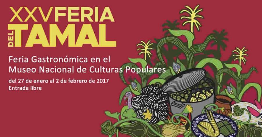 Festeja el Día de la Candelaria en la XXV Feria del Tamal