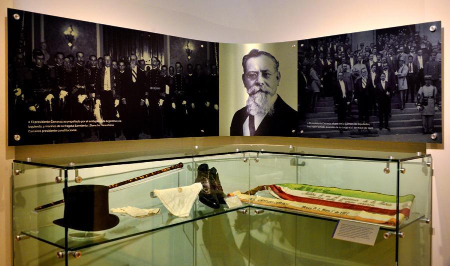 """CONMEMORA MUSEO CASA DE CARRANZA EL CENTENARIO DE LA CONSTITUCIÃ""""N MEXICANA"""