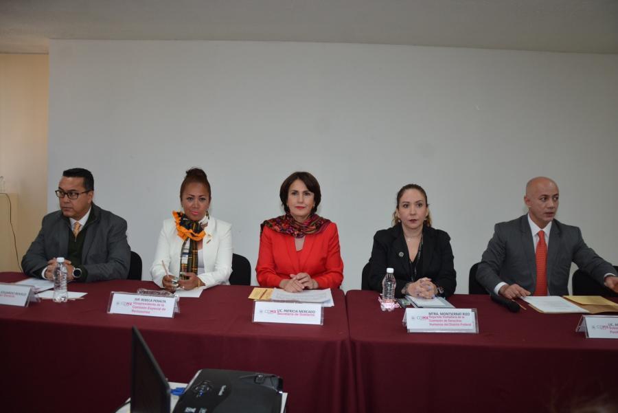Instalan Consejo de Honor y Justicia del Sistema Penitenciario de la CDMX
