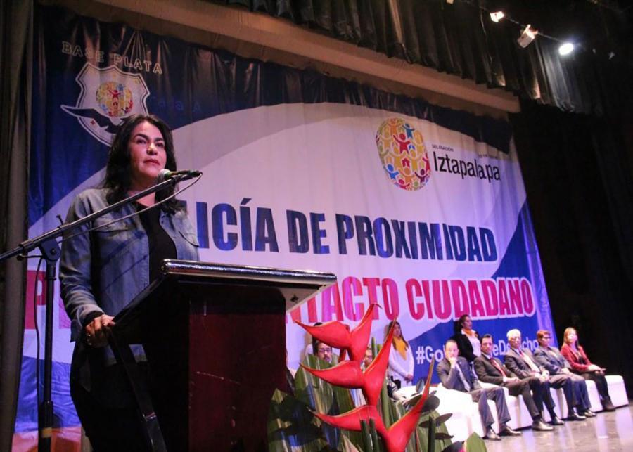 PRESENTA DIONE ANGUIANO POLICÍA DE PROXIMIDAD; FACILITARÁ LA PRESENTACIÓN DE DENUNCIAS