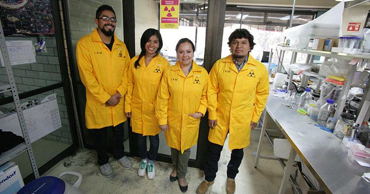 El IPN construye cuarto de radioactividad para experimentos de biología molecular