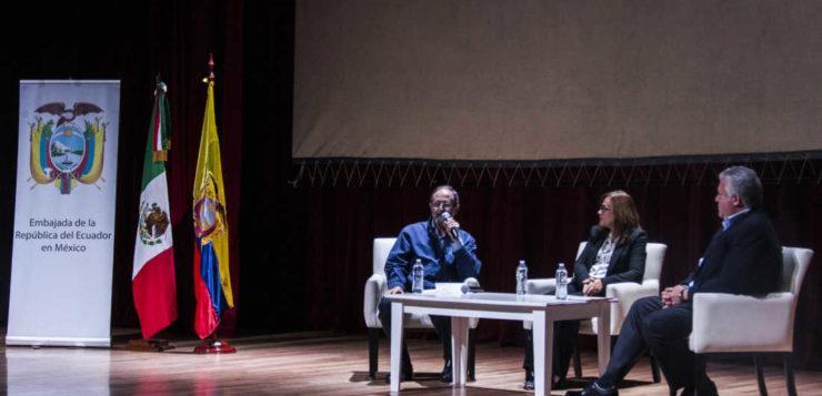 Delegación Azcapotzalco en solidaridad con Ecuador