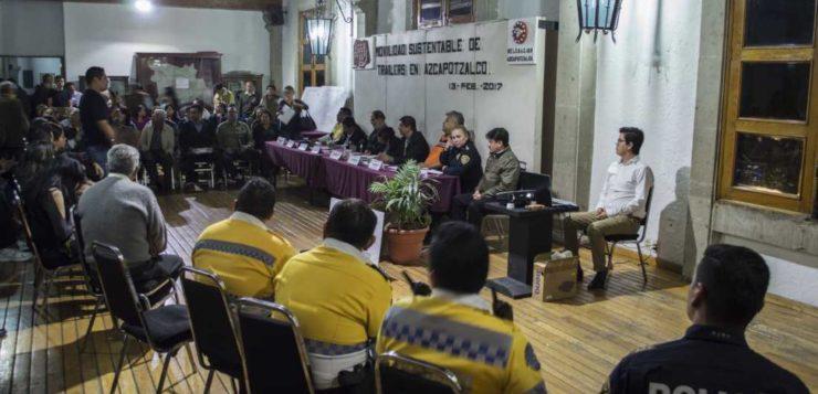 Foro Movilidad Sustentable de Tráileres en Azcapotzalco