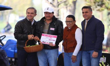 Gobierno capitalino refuerza acciones para apoyar a productores del campo de la CDMX