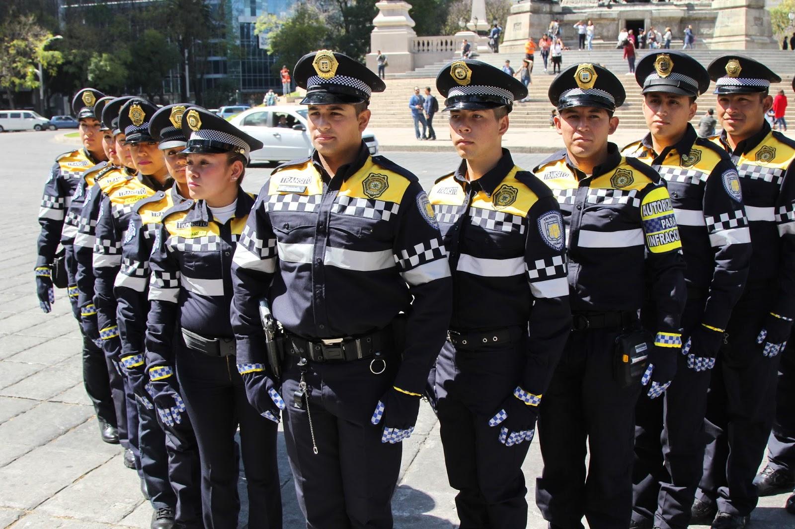 SSP-CDMX RENUEVA UNIFORMES DE POLICÍAS DE TRÁNSITO