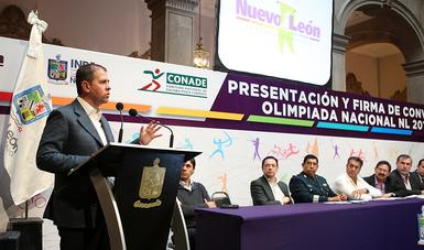 CONADE y el Gobierno de Nuevo León crearán el Centro de Investigación en Ciencias del Deporte