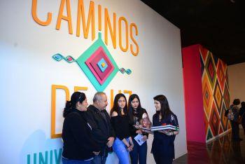 LA EXPOSICIÓN CAMINOS DE LUZ. UNIVERSOS HUICHOLES HA RECIBIDO A 200 MIL VISITANTES