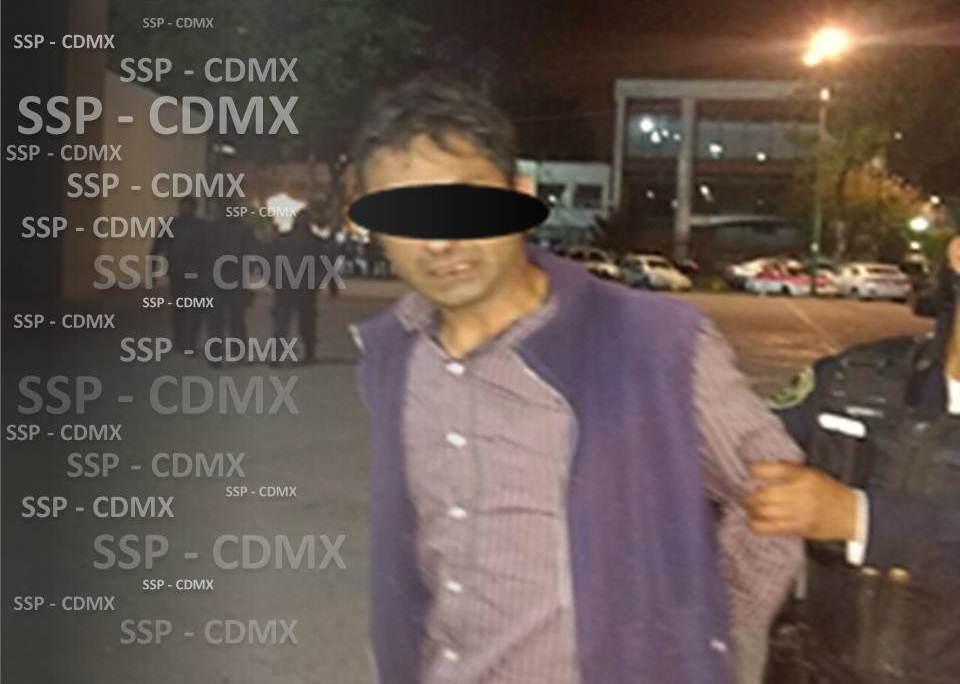 SP-CDMX DETIENE A UNO POR ROBO EN TIENDA DE CONVENIENCIA EN CUAUHTÉMOC