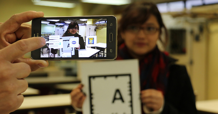 Utiliza politécnica realidad aumentada como nueva forma de enseñanza