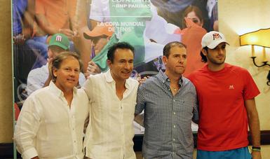 Se trabaja para el resurgimiento del tenis en México: ACC